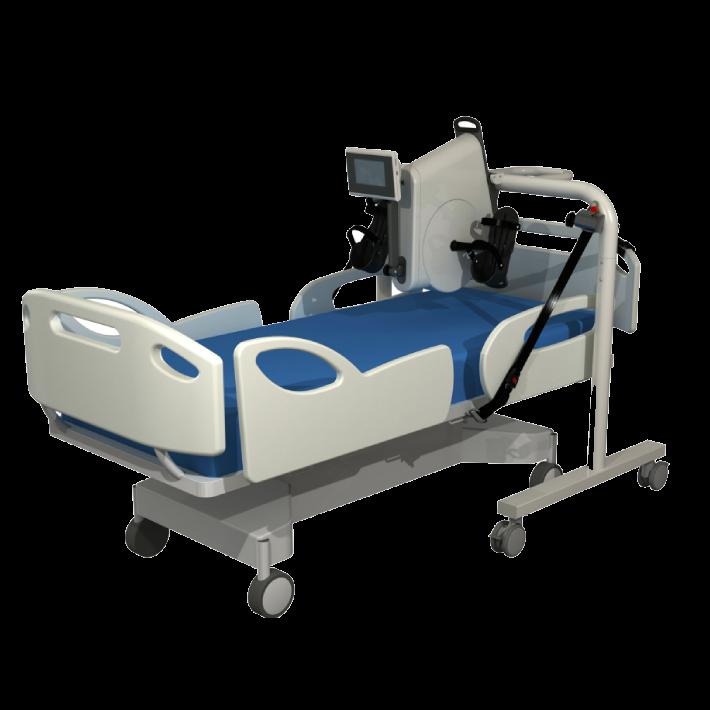 Cicloergómetro de cama Angio Rehab