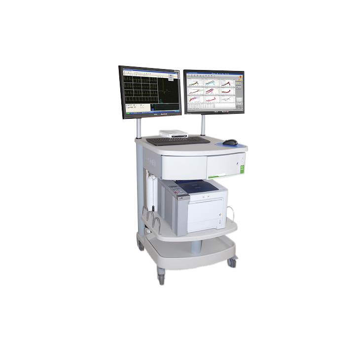 Sistema de prueba de función pulmonar Quark PFT